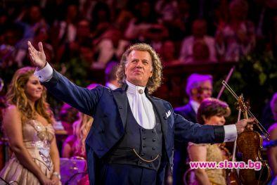 Андре Рийо обявява втори концерт в София