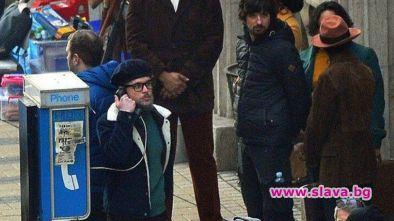 Папараци снимаха Джони Деп в центъра на Белград