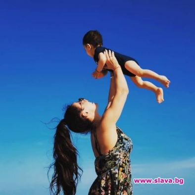 Мария Илиева заведе сина си в Маями