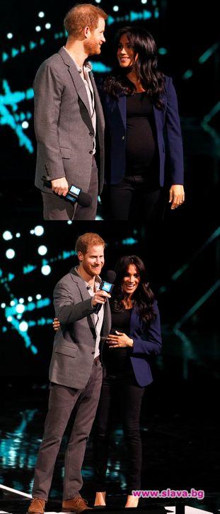 Хари и Меган обраха овациите на събитие в Лондон