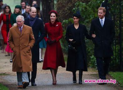 Как се отнася принц Чарлз към Меган и Кейт?