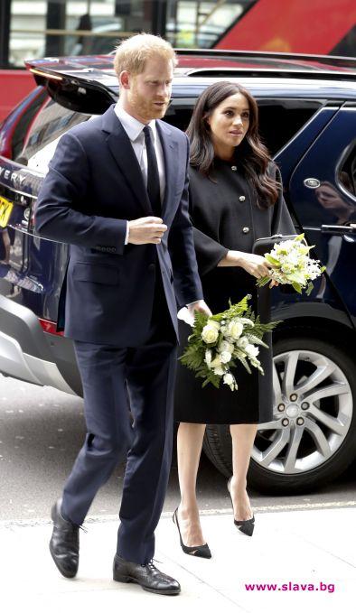 Хари и Меган отдадоха почит на жертвите в Крайстчърч