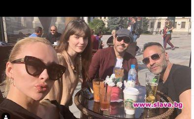 Внучката на Белмондо снима екшън в София