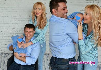 Антония Петрова отбеляза първия имен ден на сина си