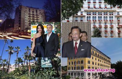 Джордж Клуни бойкотира 9 хотела на султана на Бруней