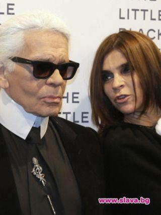 Карин Ройтфелд: Моден съветник на Karl Lagerfeld