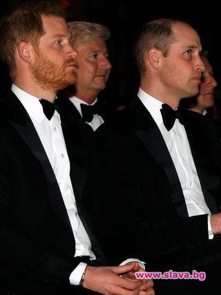 Принц Уилям не искал Хари да се жени за Меган