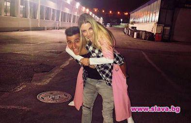 Михаела Маринова с емоционален поздрав за рождения ден на гаджето