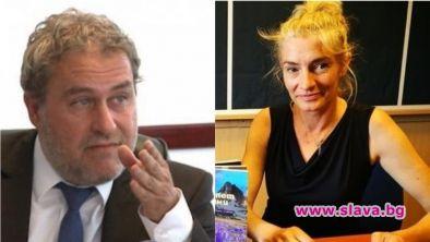 Министър Банов минава под венчило с Ива Петрони на Велики четвъртък