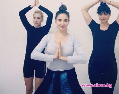 Елен Колева стана йога инстъруктор