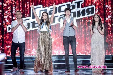 Четирима ще се борят за титлата Глас на България