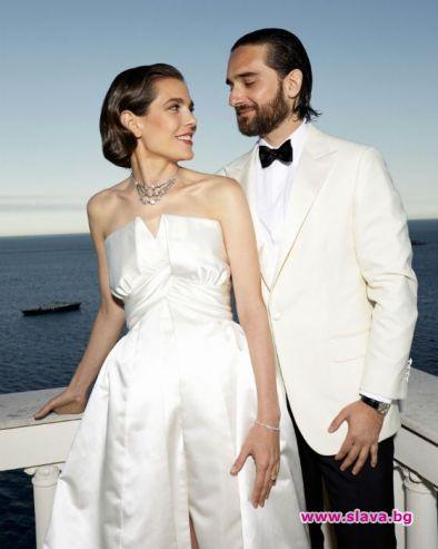 Принцесата на Монако омъжи дъщеря си за продуцент