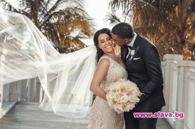 Българската снаха на Майкъл Джордан на частен остров за медения месец
