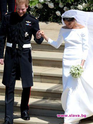 Меган и Хари лично разказват за атмосферата на сватбата си