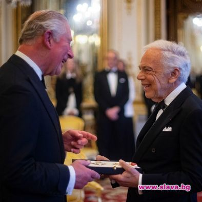 Ралф Лорън получи рицарско звание за заслугите си в модата