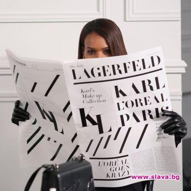 Колаборация между L'oreal и Карл Лагерфелд излиза на пазара
