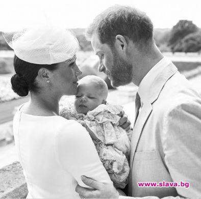 Меган Маркъл и принц Хари кръстиха сина си