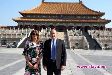 Деси Радева с рокля за 250 лева в Китай