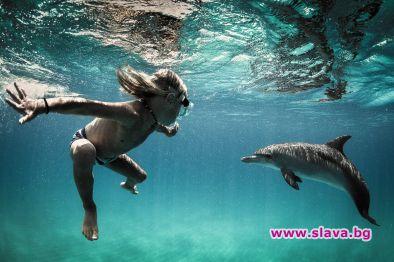 9-годишно дете кара сърф, скейт и е приятел с делфините