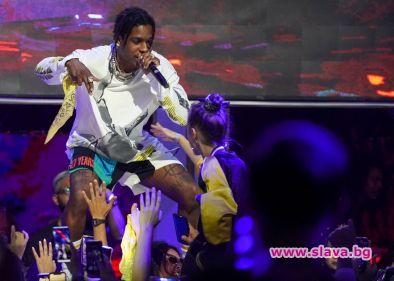 Повдигнаха обвинение на рапъра A$AP Rocky в Швеция