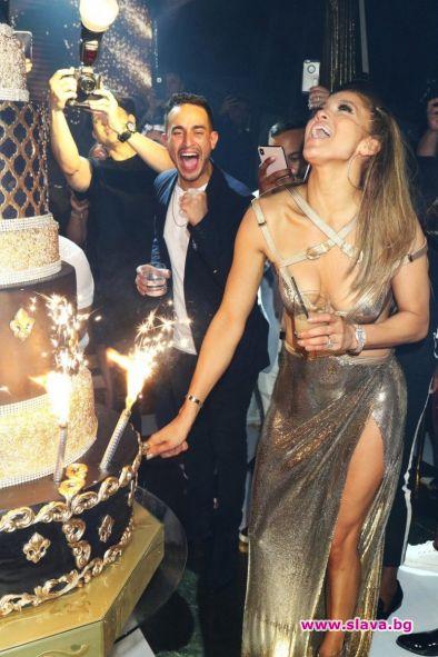 Грандиозният рожден ден на Дженифър Лопес