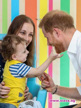 Принц Хари иска още едно дете