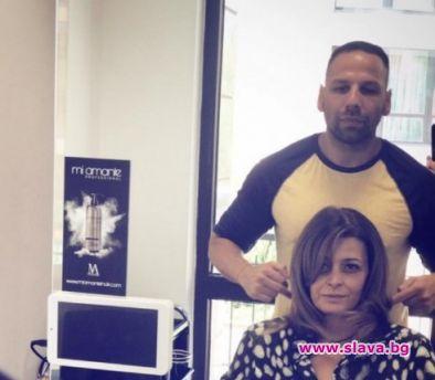 Деси Радева заряза фризьора си