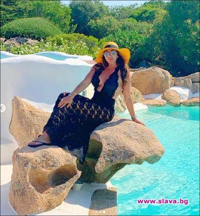 Дарина в Сардиния