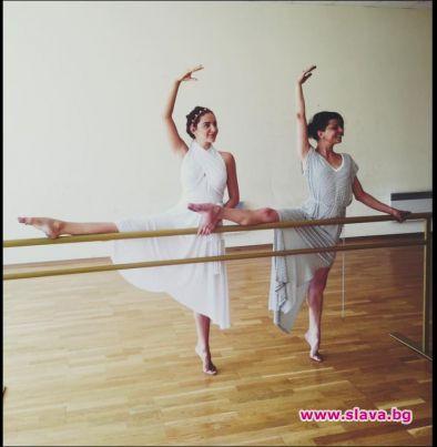 Елен Колева става балерина