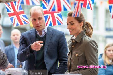 За разлика от Меган и Хари, Кейт и Уилям летят с пътнически самолет