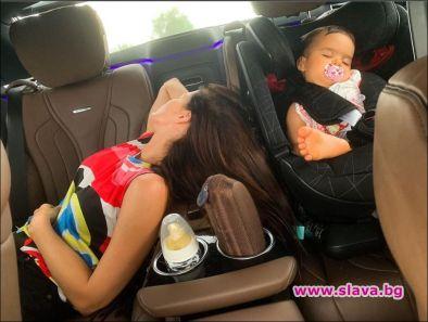 Бебето на Преслава я приспa