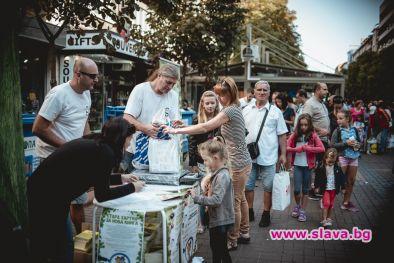 Рекорд на кампанията Стара хартия за нова книга в София