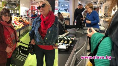 На пазар с Меркел: Нона Йотова и Маргарита Петкова пазаруваха с Ангела...