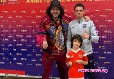 Синът на Киркоров – футболен талант No. 1 в Русия