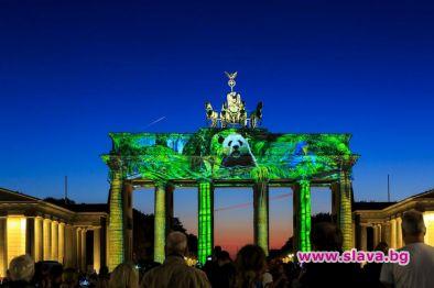 Българи преобразяват отново Берлин със светлинно шоу