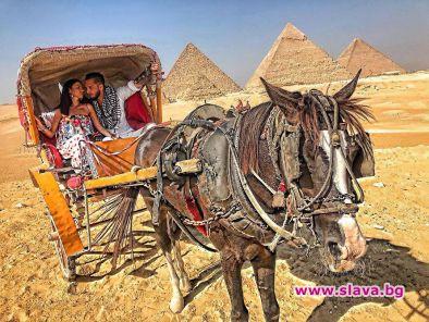 Джино и Кристиана в романтична египетска приказка