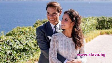 Излязоха първи снимки от сватбата на Надал