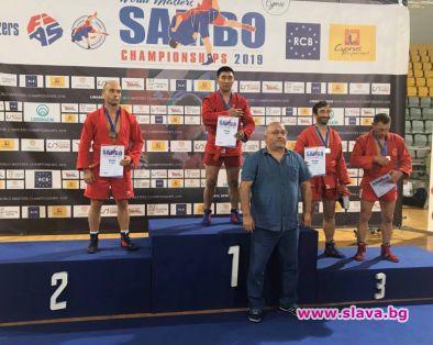 Българинът Стойко Гашуров завоюва сребро от Световното по самбо за ветерани