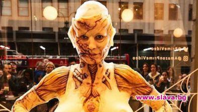 Хайди Клум най-зловеща на Хелоуин