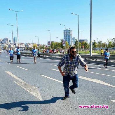Азис се включи в Истанбулския маратон