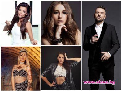 Преслава и Прея в топ 10 на спряганите певци за Евровизия