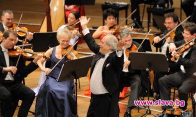 Щраус Виена оркестър снимат DVD в София