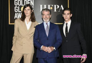 Синовете на Пиърс Броснан стават посланици на наградите
