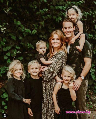 Съпругата на Джеймс ван дер Бийк е претърпяла аборт