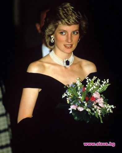 Продават на търг рокля на принцеса Даяна